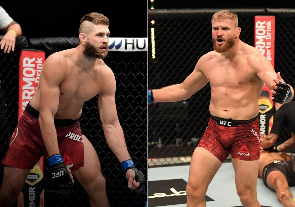 Jiri Prochazka says it will be his pleasure to fight champ Jan Blachowicz - Jiri