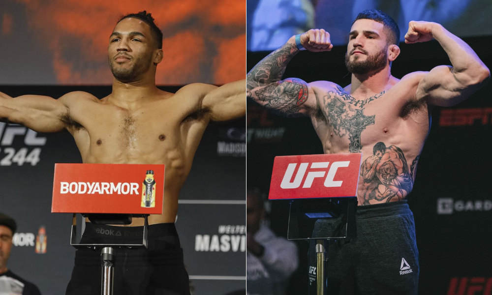 Kevin Lee set to fight Sean Brady at UFC 264 on July 10 - Lee
