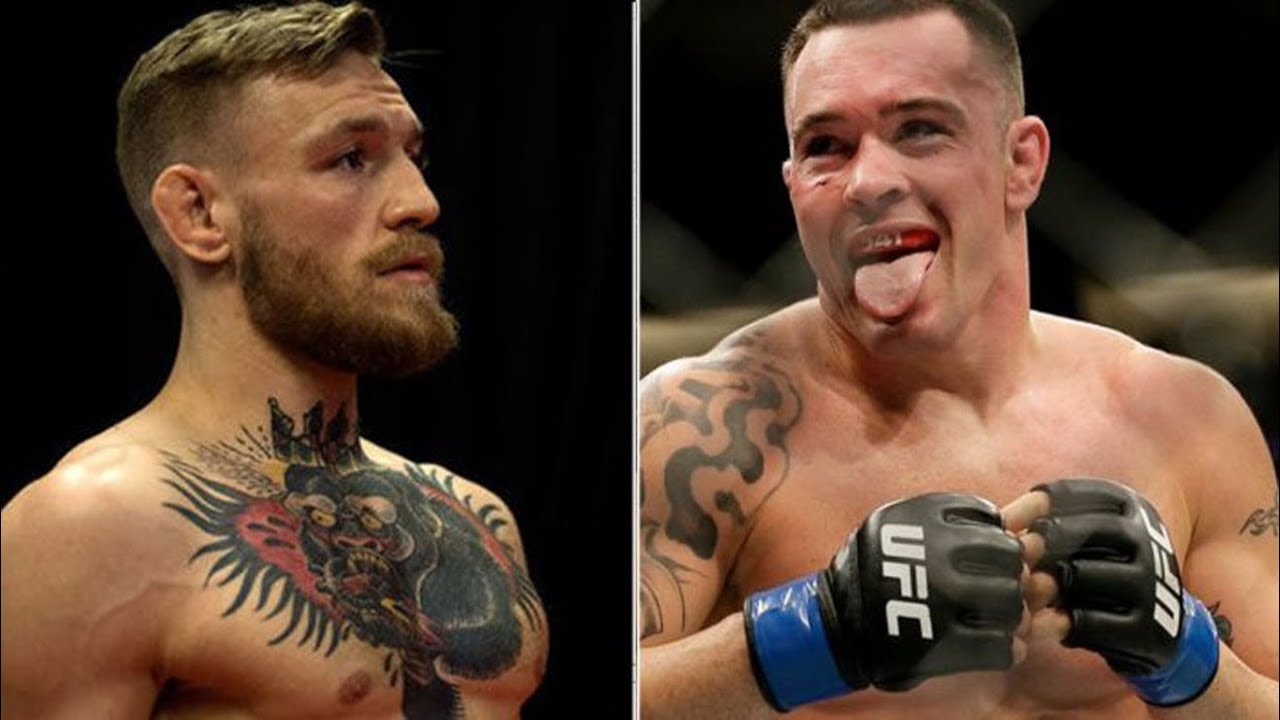 cOLBY cOVINGTON VS CONOR MCGREGOR