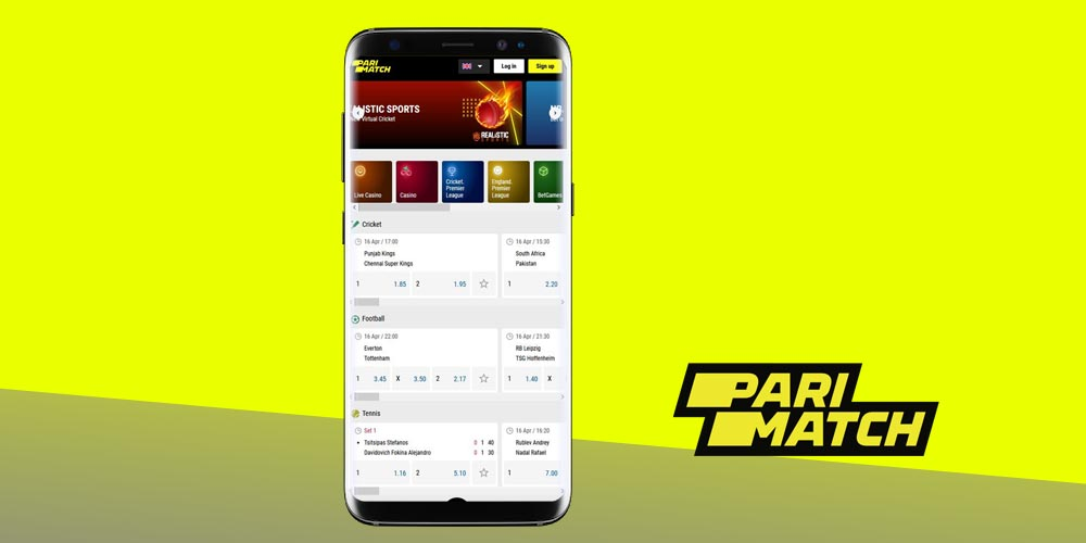 Parimatch India app for Android: download and use instructions - parimatch