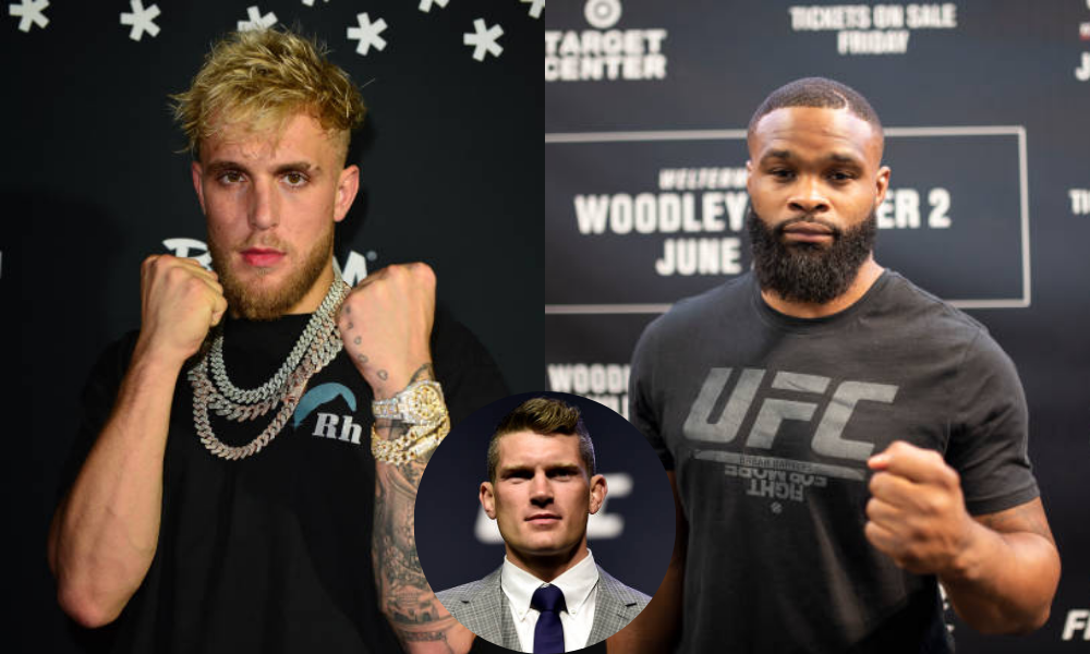 Stephen Thompson says it's a bad idea for Jake Paul to box Tyron Woodley - Thompson