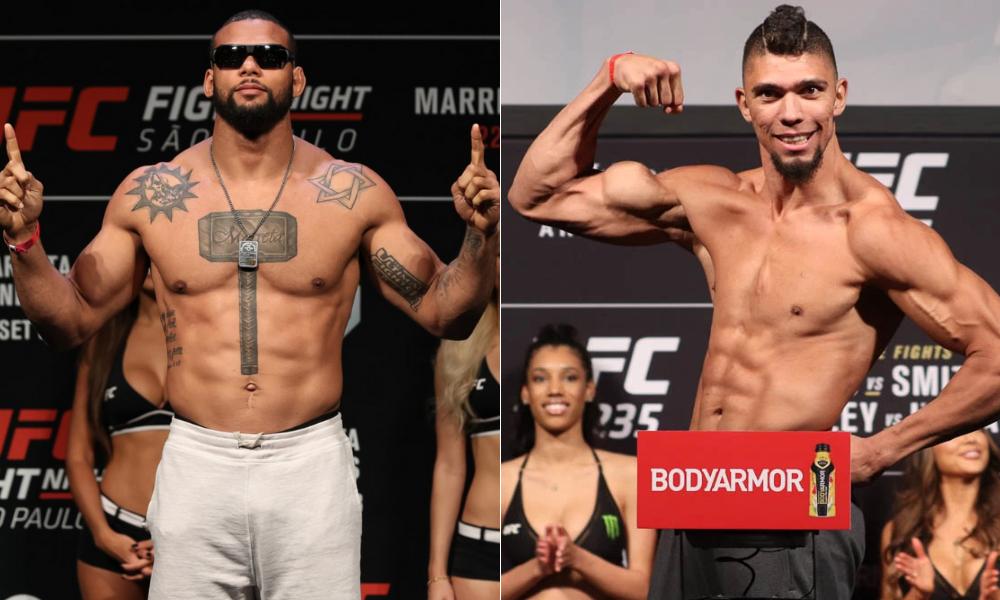Thiago Santos to fight Johnny Walker at UFC event on September 25 - Walker