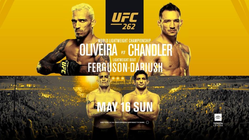 UFC 262: Oliveira vs. Chandler - UFC 262