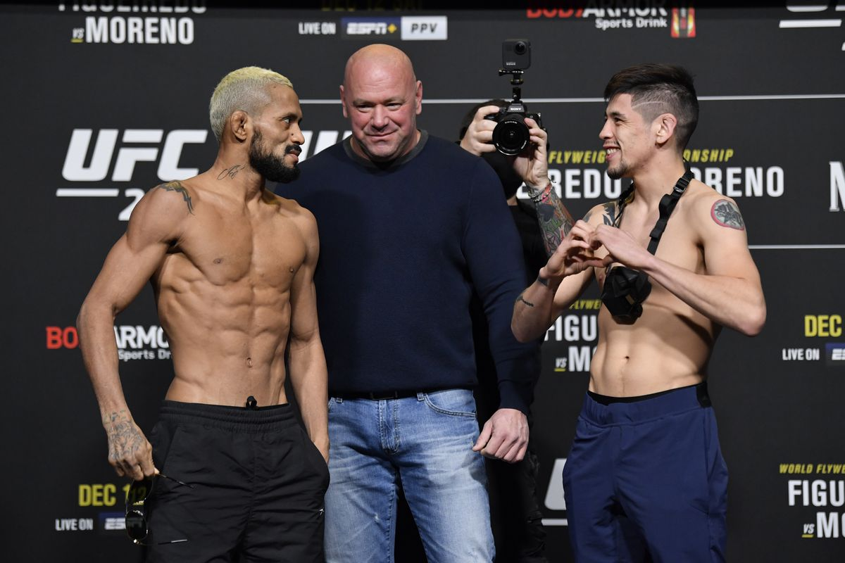 Brandon Moreno says Deiveson Figueiredo is 'Very Ugly' ahead of their rematch at UFC 263 - Moreno