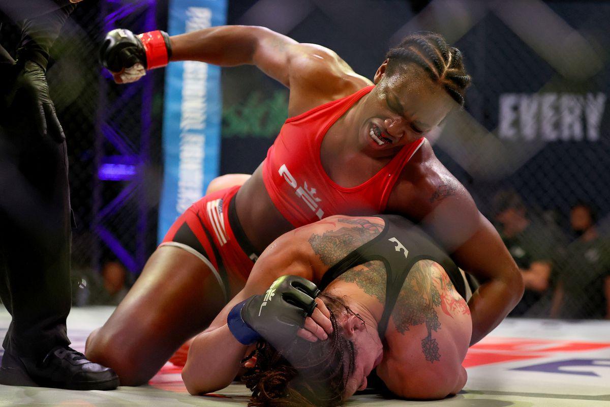 PFL 4 Results: Claressa Shields defeats Brittney Elkin via TKO - Claressa