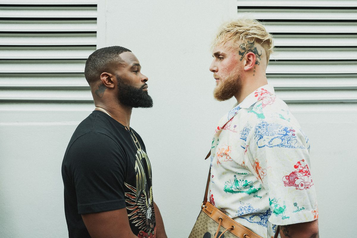 Jake Paul says he will drag Tyron Woodley into deep waters in their boxing match - Jake