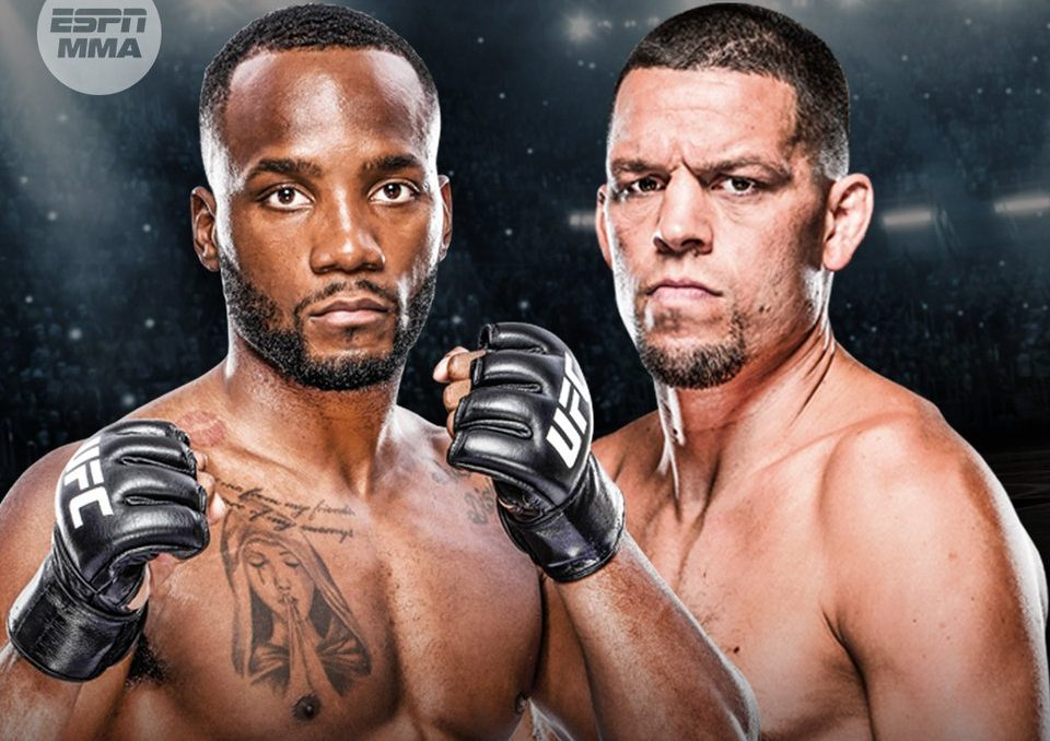Leon Edwards vows to knock Nate Diaz out cold at UFC 263 - Edwards