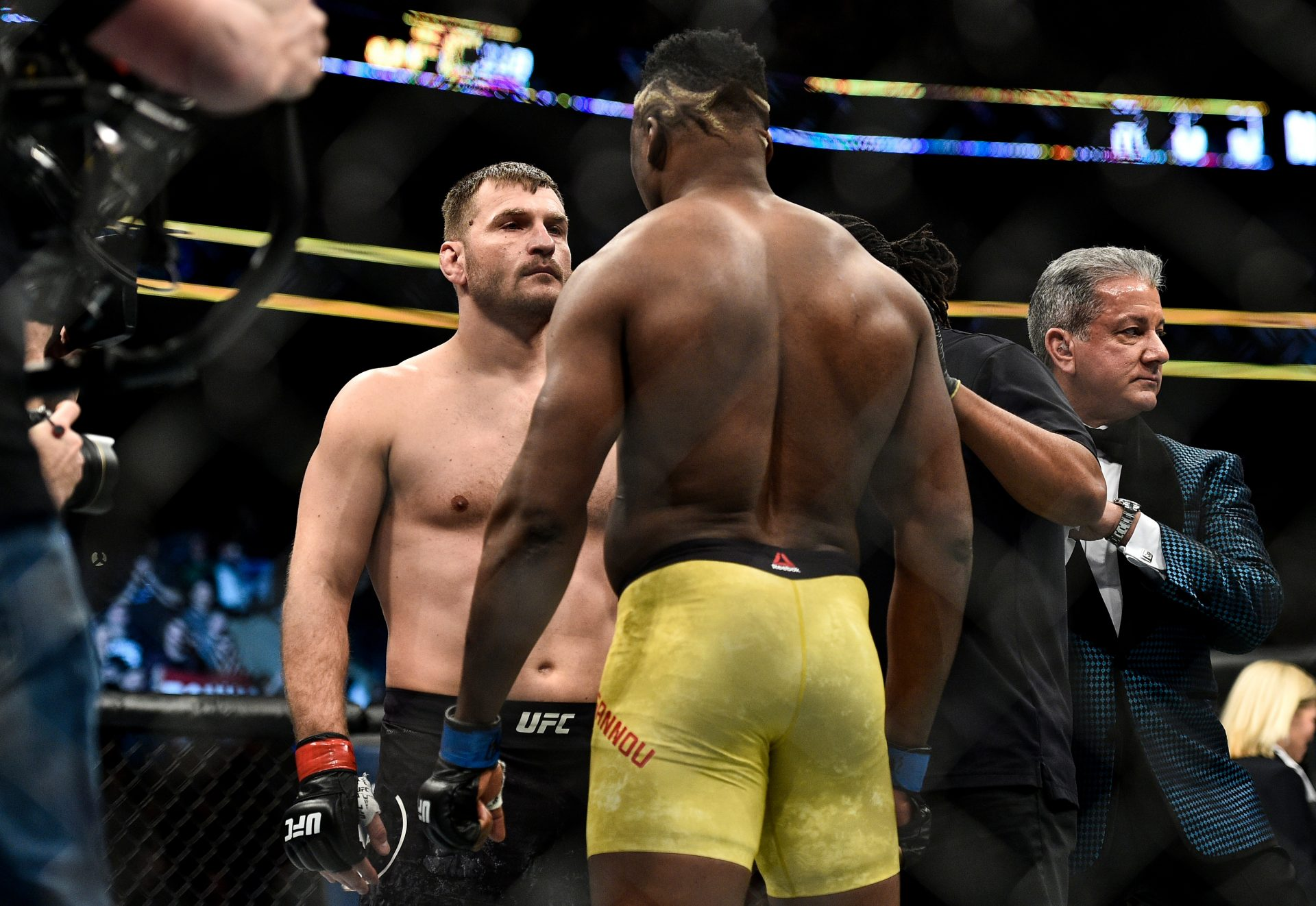 Stipe Miocic is 100 percent confident that he can defeat Francis Ngannou in a trilogy fight - Stipe