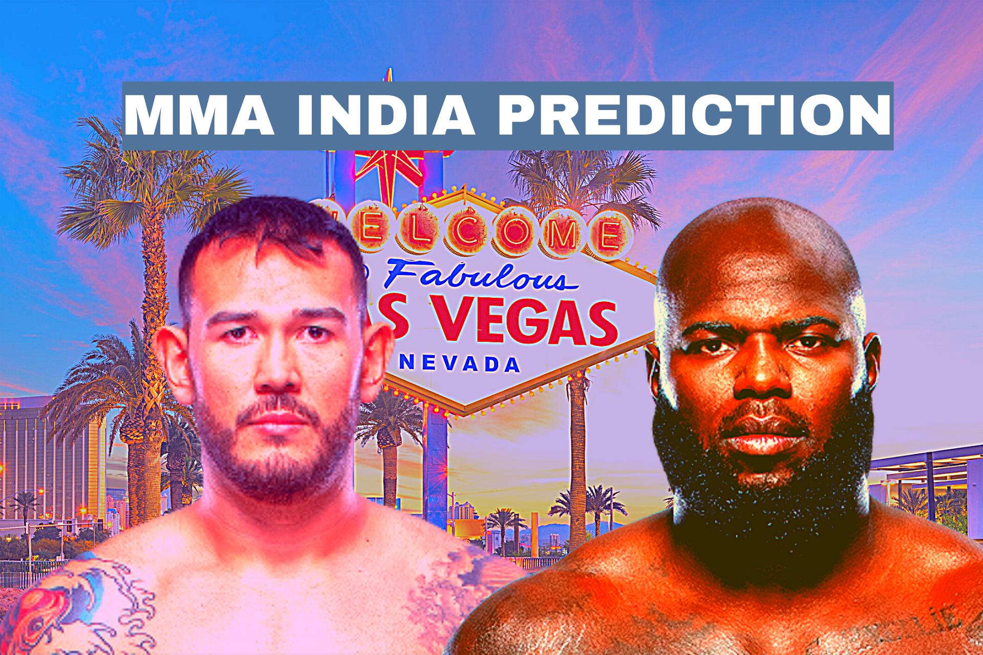 UFC Vegas 28: Jairzinho Rozenstruik vs Augusto Sakai Betting Odds and Prediction - Jairzinho