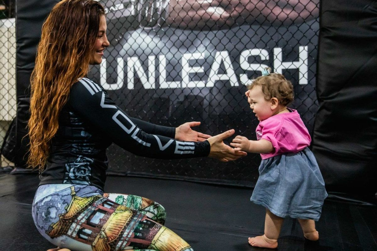 Miesha Tate wants to make her kids proud with her performance inside the cage - tate