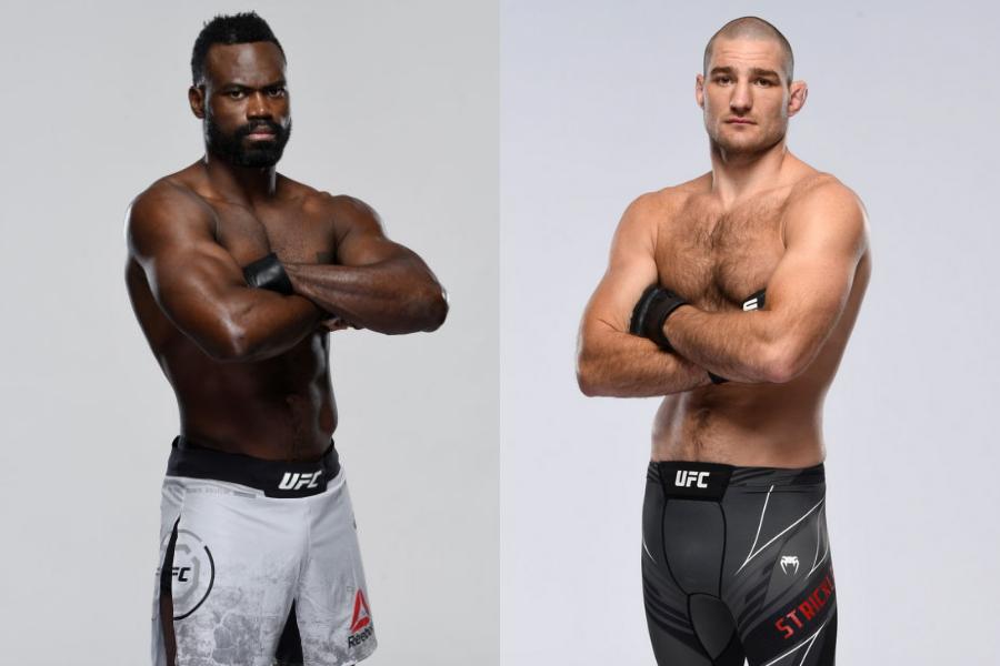 Uriah Hall vs. Sean Strickland set to headline UFC Fight Night on July 31 - Hall