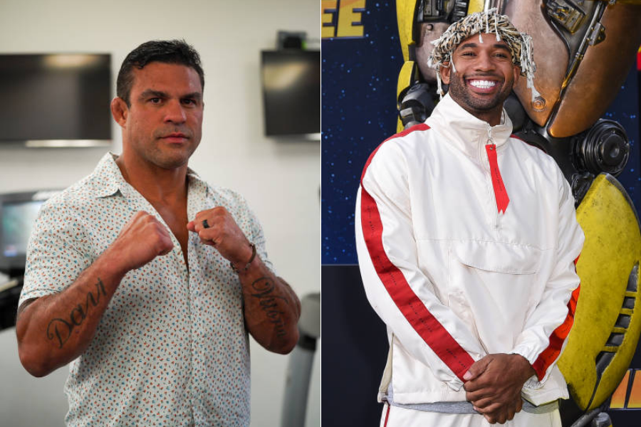 Vitor Belfort to fight YouTube star Mike Holston in a boxing match on Triller - Belfort