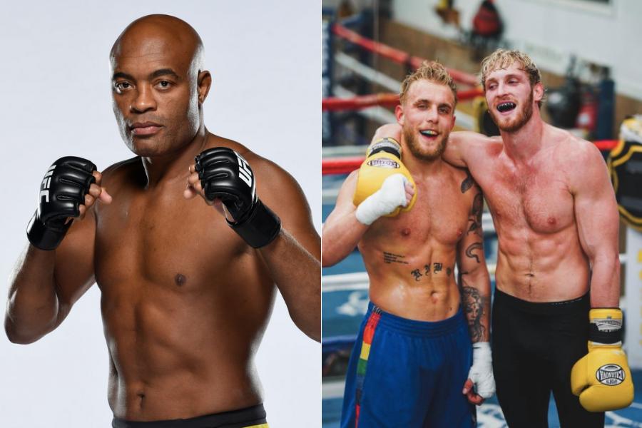 Anderson Silva expresses interest in fighting Jake Paul and Logan Paul - silva