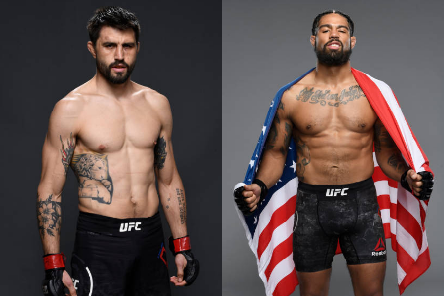 Carlos Condit to fight Max Griffin at UFC 264 on July 10 - condit