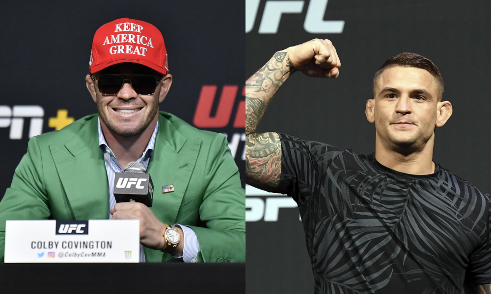 Colby Covington slams Dustin Poirier for dropping an amateur in training - Colby