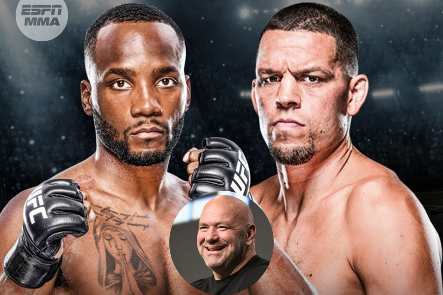 Dana White says winner of Diaz vs Edwards will be next in line for title shot after Colby Covington - Dana