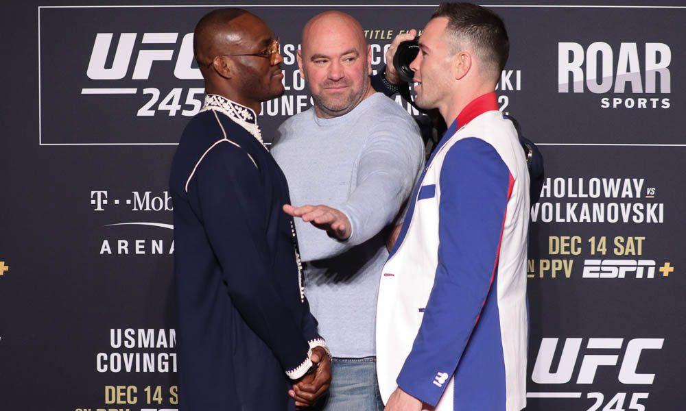 Dana White says Colby Covington will fight Kamaru Usman next - Covington