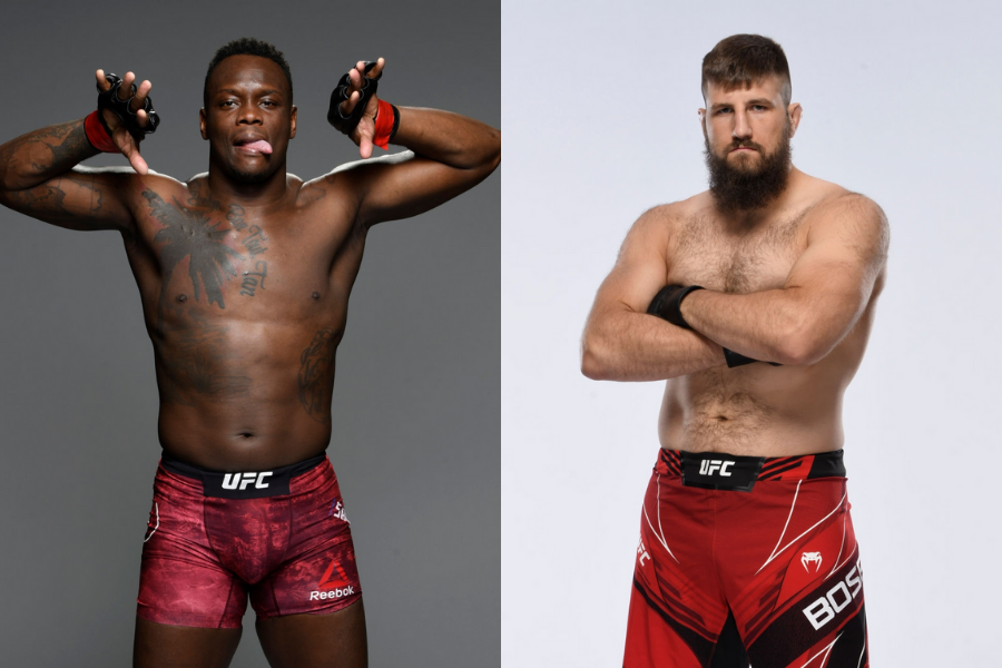 Maxim Grishin out, Ovince Saint Preux will fight Tanner Boser at UFC Vegas 30 - Ovince