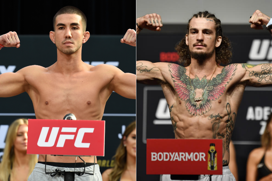 Louis Smolka pulls out of his fight against Sean O'Malley at UFC 264 - sean