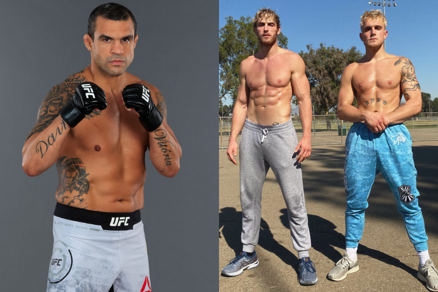 Vitor Belfort wants to fight Jake Paul and Logan Paul on the same night - Belfort