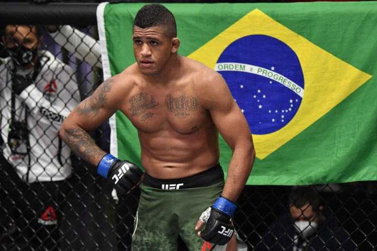 Gilbert Burns willing to face Jorge Masvidal, Leon Edwards and Nate Diaz to earn a rematch with Kamaru Usman
