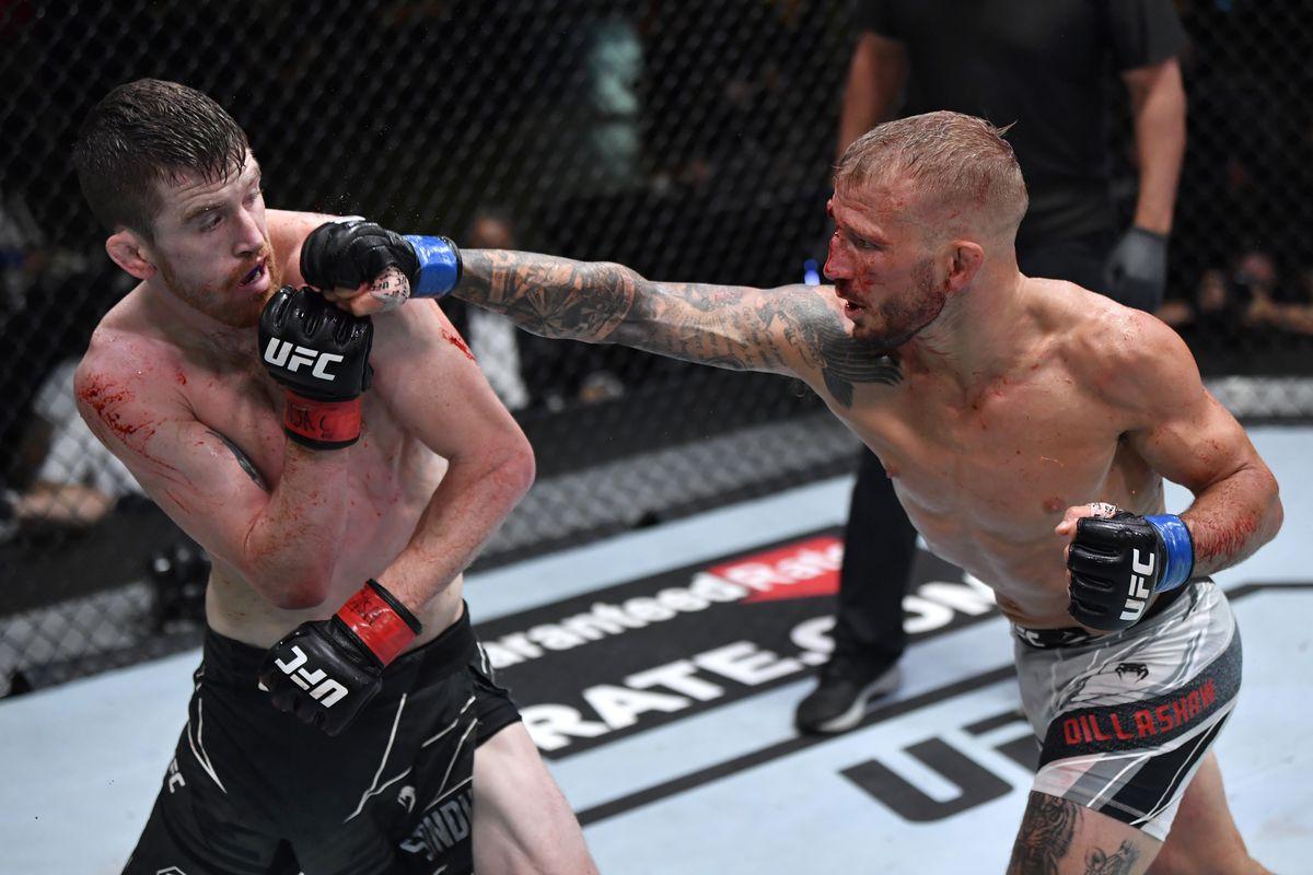 Cory Sandhagen releases statement after split decision loss to T.J. Dillashaw at UFC Vegas 32 - sandhagen