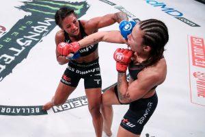 Bellator 262: Juliana Velasquez defends Flyweight title with a SD win over Denise Kielholtz - Bellator
