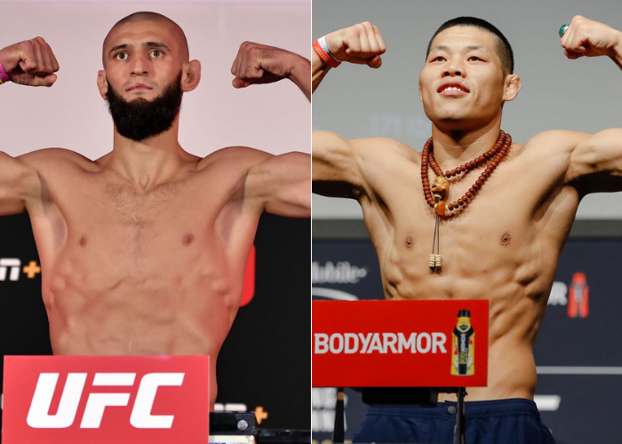 Khamzat Chimaev to fight against Li Jingliang at UFC 267 in October - chimaev