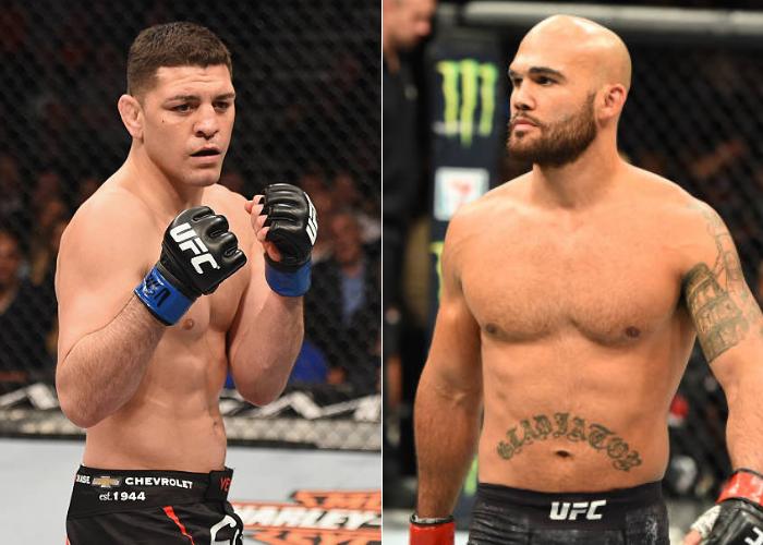 Nick Diaz vs Robbie Lawler targeted for UFC 266 in September - Diaz