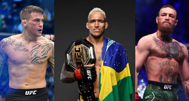 Charles Oliveira gives his prediction for UFC 264 fight between Conor Mcgregor and Dustin Poirier - oliveira