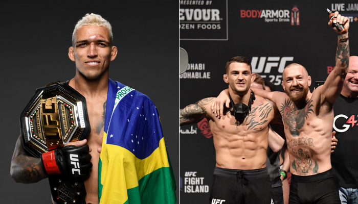 Charles Oliveira says he can knockout both Conor McGregor and Dustin Poirier - oliveira
