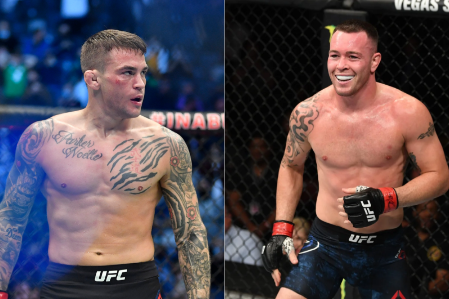 Colby Covington wants to settle his dispute with Dustin Poirier in the Octagon - covington