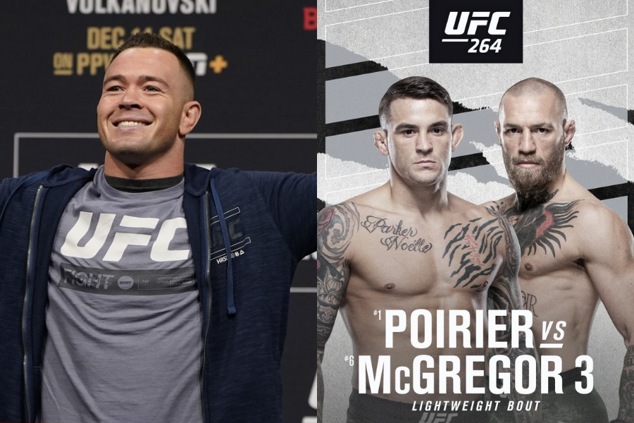 Colby Covington gives his prediction for Conor McGregor vs. Dustin Poirier fight at UFC 264 - colby