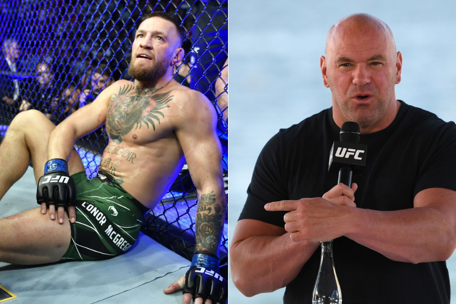 Dana White says Conor McGregor is suffering from chronic arthritis in his ankles - mcgregor