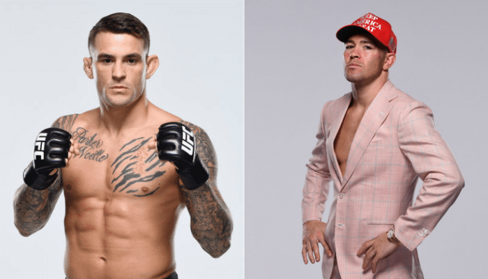 Dustin Poirier responds after Colby Covington releases video of him dropping a sparring partner - Poirier