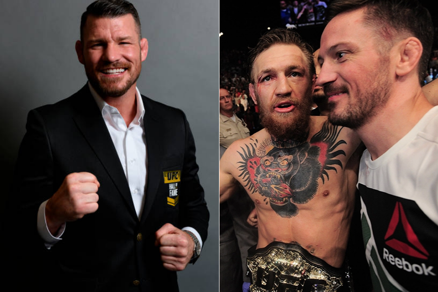 Michael Bisping believes Conor McGregor should part ways with John Kavanagh - mcgregor