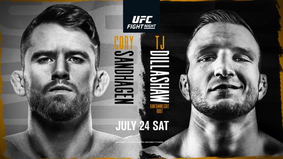 UFC Vegas 32: Dillashaw vs Sandhagen Betting Odds and Prediction