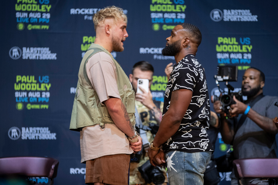 Jake paul wants to KO Tyron Woodley and prove that he is the real killer - paul