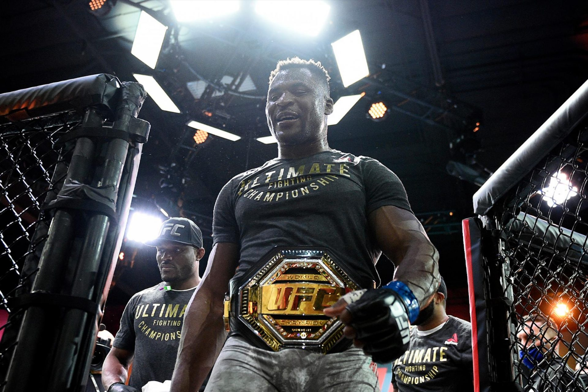 Francis Ngannou talks about fight negotiations with the UFC - ngannou