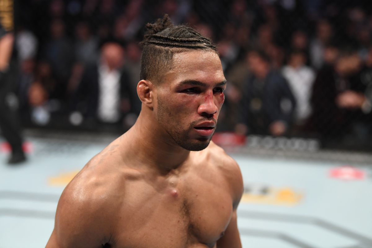 Kevin Lee reacts to his last loss against Daniel Rodriguez at UFC on ESPN 30 - lee
