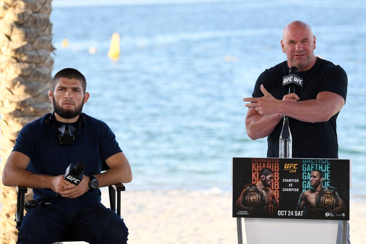 Dana White has abandoned all hope of Khabib Nurmagomedov fighting in the UFC - khabib