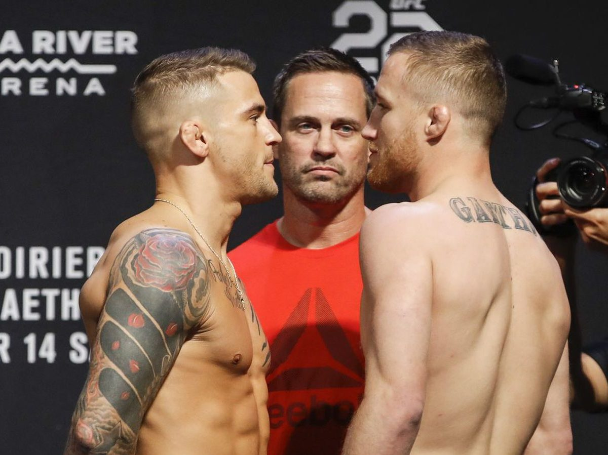 Justin Gaethje wants to fight Dustin Poirier after Michael Chandler - gaethje