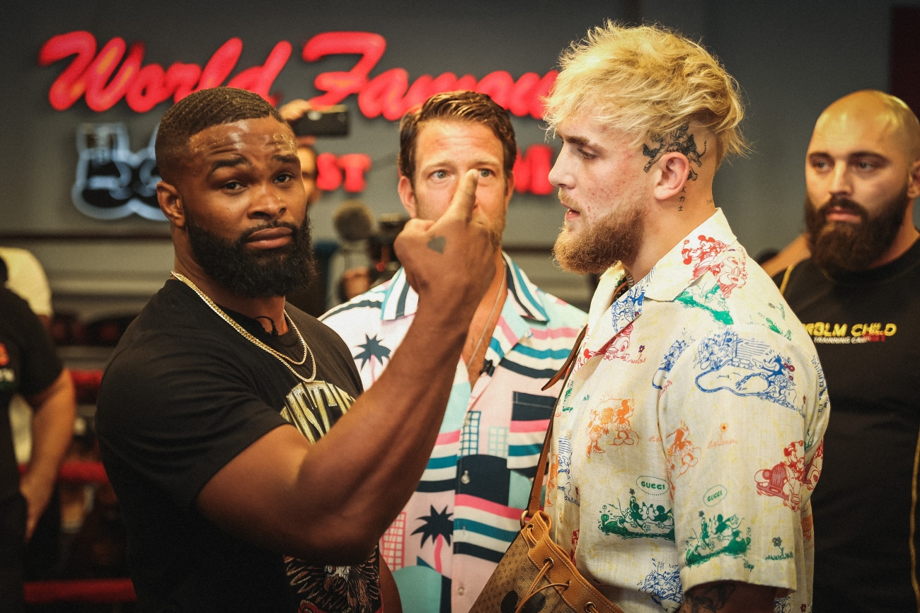 Tyron Woodley: 'You're going to see Jake Paul get hurt in a way you'd never imagine' - woodley