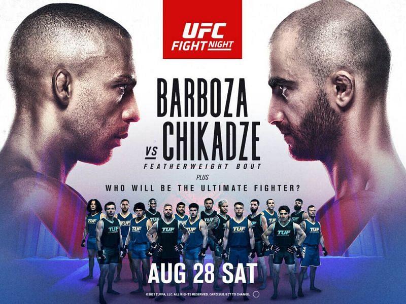 UFC on ESPN: Barboza vs. Chikadze - Barboza