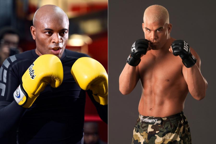 Tito Ortiz Reacts to boxing match with Anderson Silva - ortiz