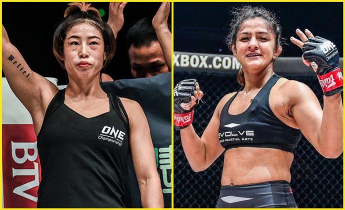 Meng Bo vs Ritu Phogata