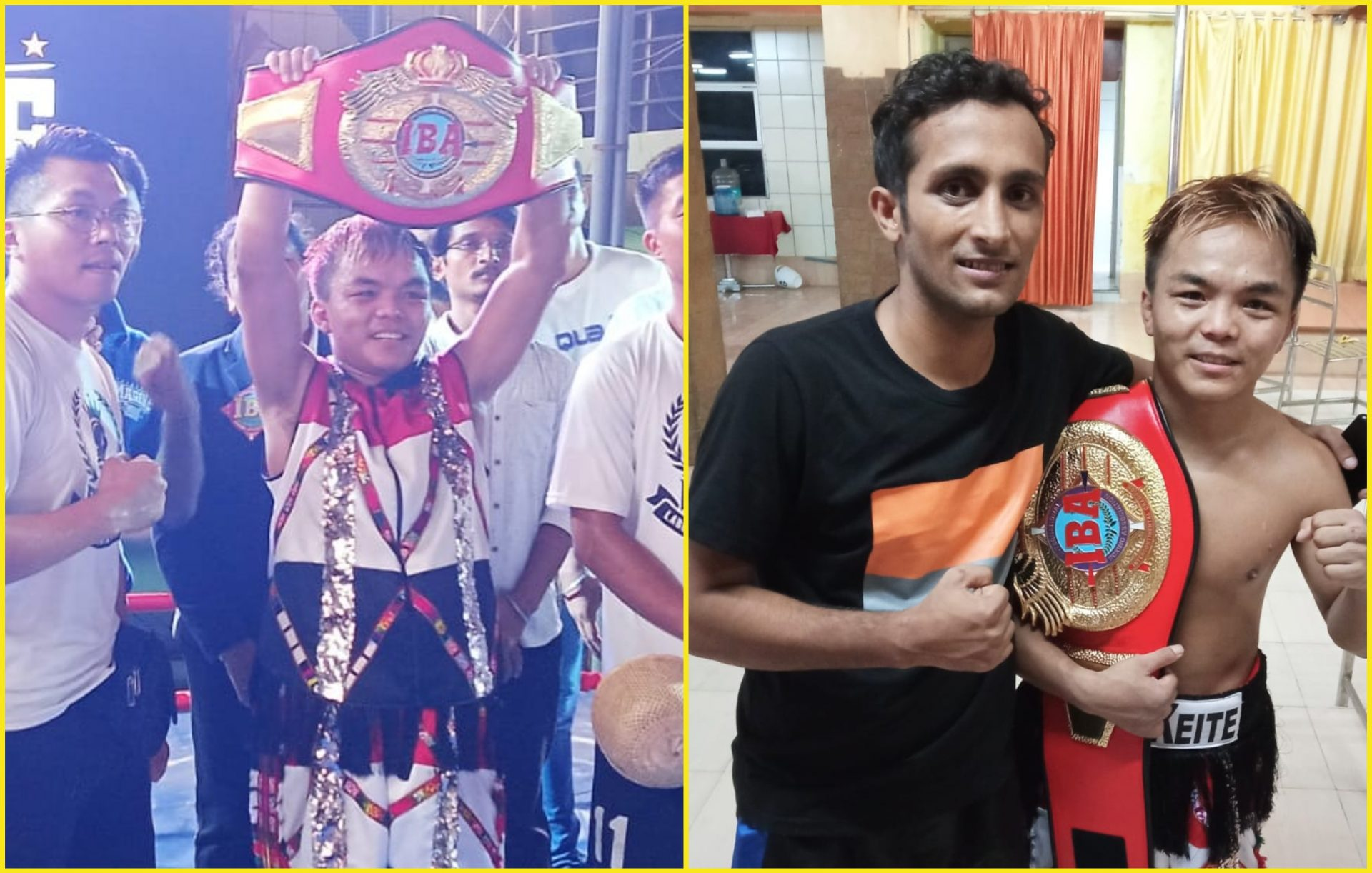 Mizoram boxer Nutlai Lalbiakkima destroys opponent to become new IBA intercontinental title - Nutlai Lalbiakkima