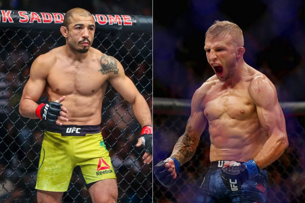 Jose Aldo wants to fight TJ Dillashaw for the No. 1 contender spot in December - MMA INDIA