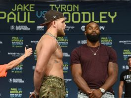 Jake Paul vs Tyron Woodley odds and prediction