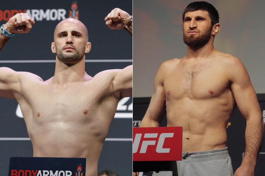 Volkan Oezdemir vs Magomed Ankalaev fight added to UFC 267 - oezdemir